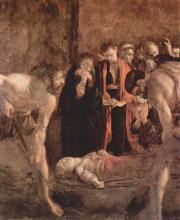 Seppellimento di Santa Lucia
