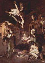 Natività con i Santi Lorenzo e Francesco d'Assisi