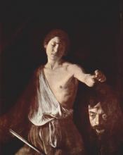 Davide con la testa di Golia - Roma