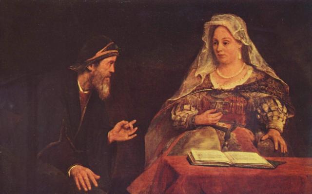 Ester e Mardocheo - Aert de Gelder