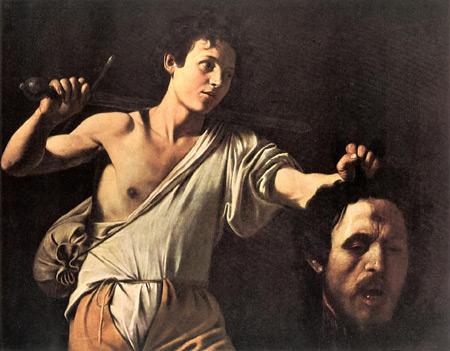 Davide e Golia - Caravaggio (Vienna)