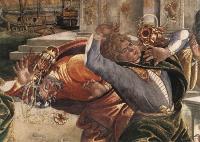 Punizione di Core - Botticelli particolare