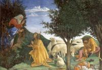 Dio affida a Mosè la missione di liberare il popolo - Botticelli