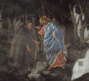 Tentazioni di Cristo - il diavolo appare a Gesù