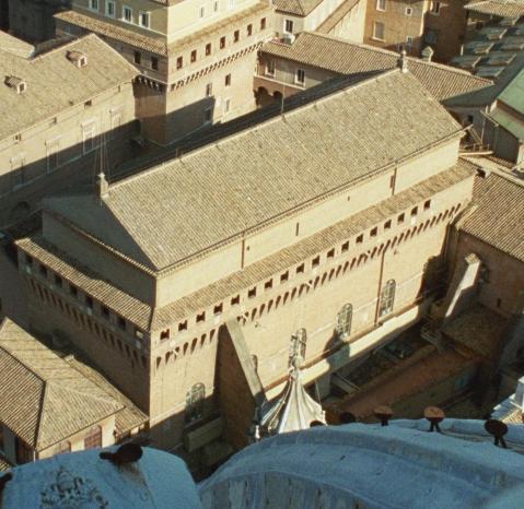 Cappella Sistina - esterno 1