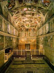 Cappella Sistina - interno 2