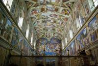 Cappella Sistina - interno 1