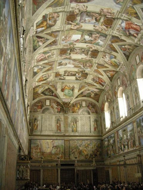 Cappella Sistina - interno 3