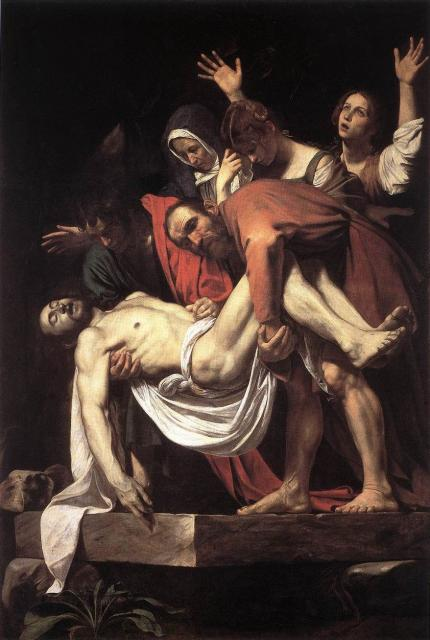 Deposizione nel sepolcro - Caravaggio
