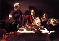 Cena di Emmaus - Caravaggio Londra