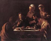 Cena di Emmaus - Caravaggio Milano