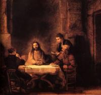 Cena di Emmaus - Rembrandt