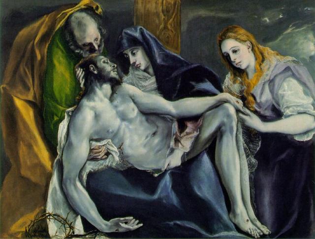 Pietà di El Greco 2