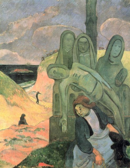 Cristo verde di Gauguin