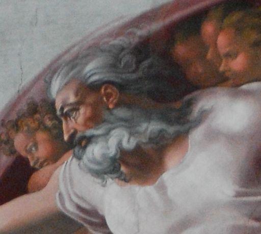 Genesi: Creazione dell'uomo - volto di Dio