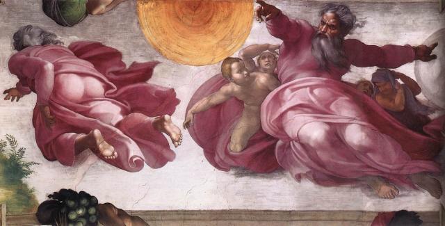 Genesi: Creazione del sole, della luna e delle piante