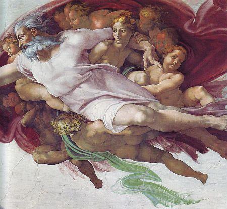 Genesi: Creazione dell'uomo - Dio Padre