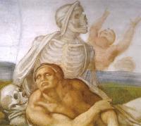 Giudizio: la resurrezione dei corpi - particolare