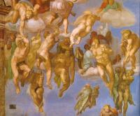 Giudizio: ascesa dei beati al cielo