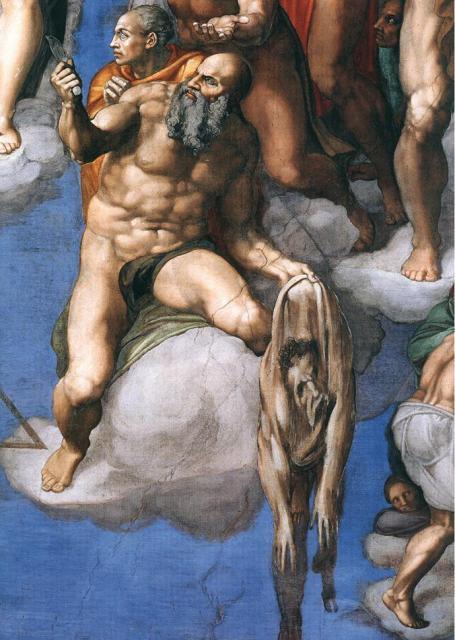 Giudizio: San Bartolomeo