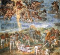 Conversione di Saulo - Michelangelo