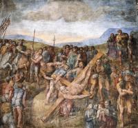 Martirio di San Pietro - Michelangelo