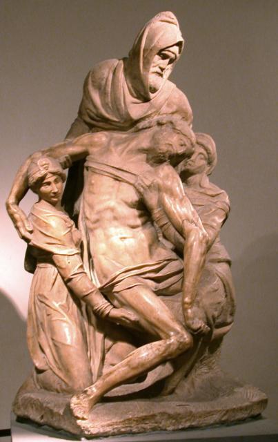 Pietà Firenze di Michelangelo