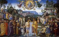 Battesimo di Cristo - Perugino