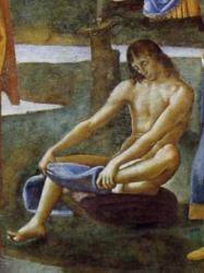 Battesimo di Cristo - particolare 3