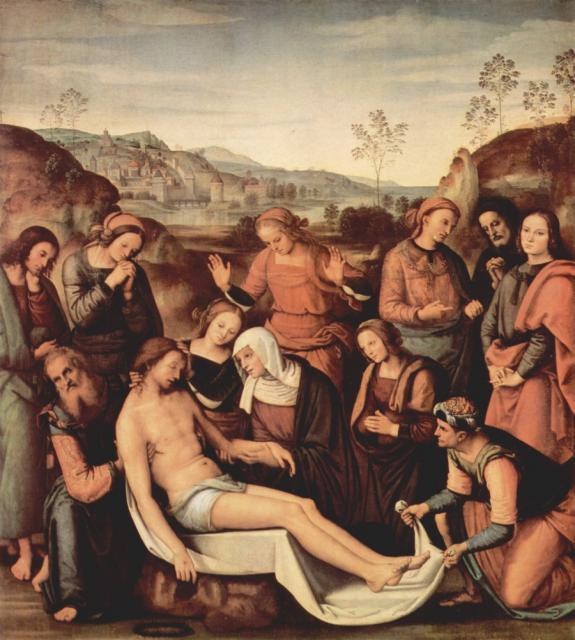 Pietà - Perugino