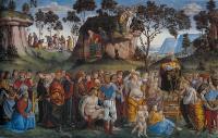 Testamento e morte di Mosè - Signorelli