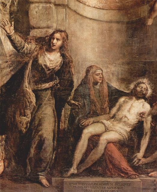 Pietà - Tiziano