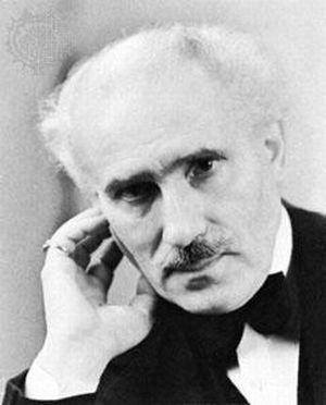 Un primo piano di Arturo Toscanini
