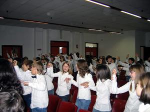 Le prove in auditorium