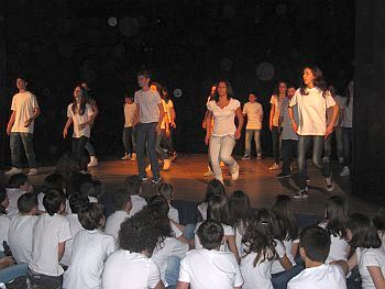 Body percussion seconda media