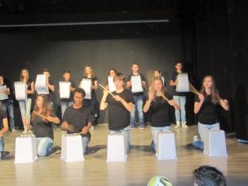 Body percussion classe terza D
