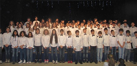 Concerto Natale 2013 - Coro classi prime scuola secondaria